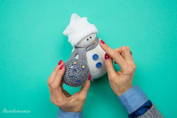 лицо снеговика