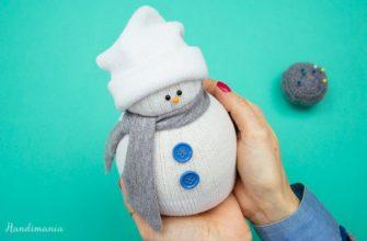 handmania снеговик