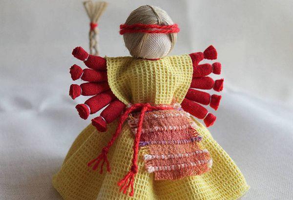 Виды кукол - оберегов из ткани