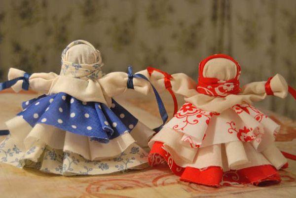 куклы колокольчики
