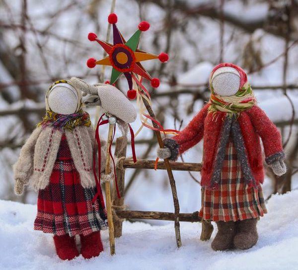 народные куколки