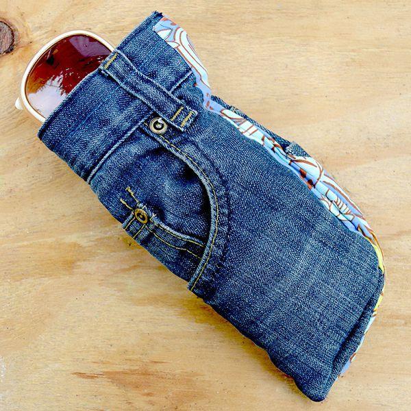 очечник из джинсов