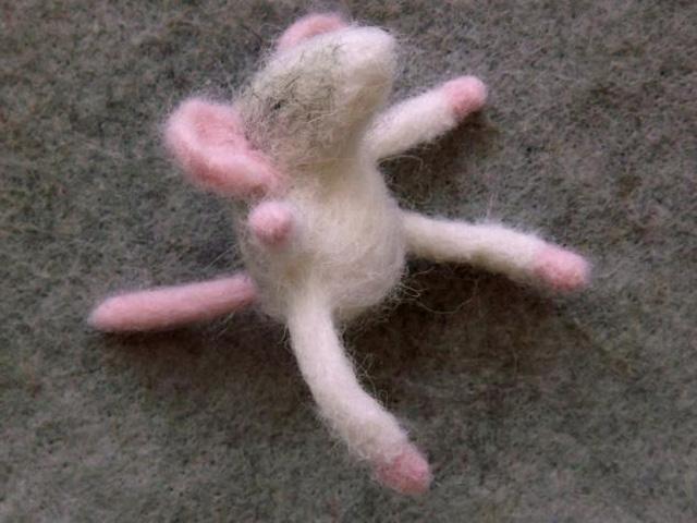 Техника валяния игрушек из шерсти