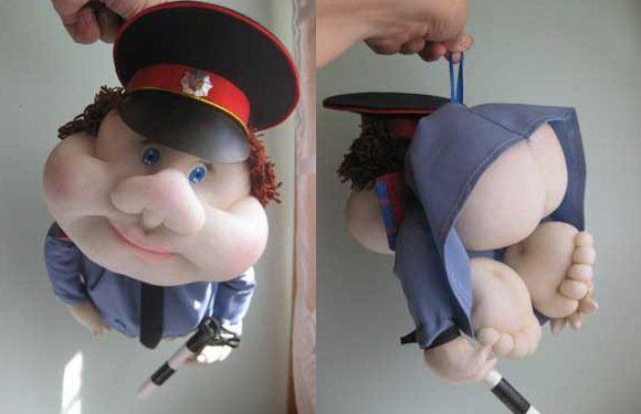попик полицейский