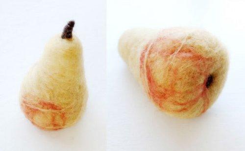 валяная груша