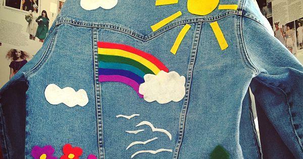 детская джинсовка с аппликацией