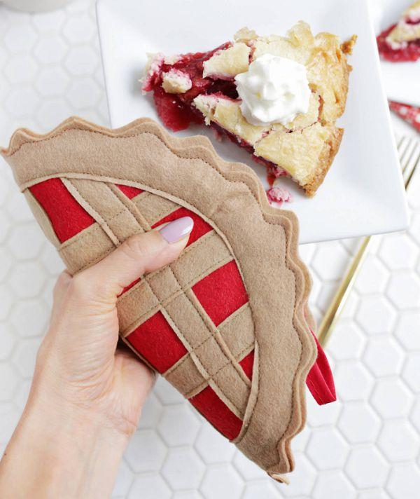 готовая прихватка-пирог